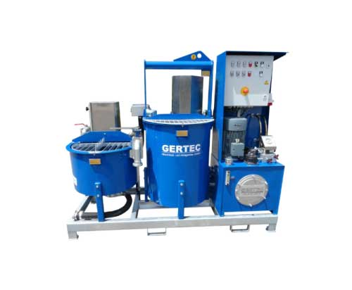 Gertec IS-60-E Colloidal Mixer isolated on white background
