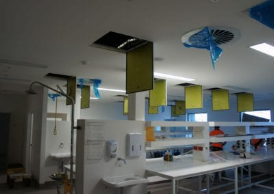 multi station with commercial ceiling systems